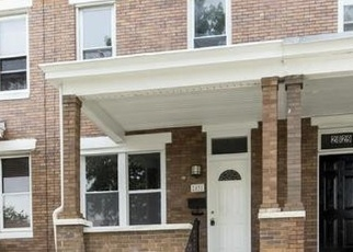 Pre Foreclosure in Baltimore 21213 LAKE AVE - Property ID: 1099748486
