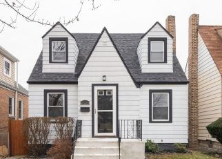 Pre Foreclosure in Chicago 60634 N OLEANDER AVE - Property ID: 1100349837