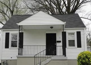 Pre Foreclosure in Capitol Heights 20743 OPUS AVE - Property ID: 1100887216