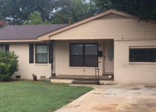 Pre Foreclosure in Cordell 73632 N GRANT ST - Property ID: 1131397808