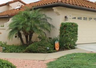 Pre Foreclosure in Escondido 92026 STILL WATER GLN - Property ID: 1138949347
