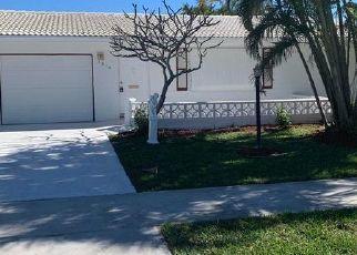 Pre Foreclosure in Boynton Beach 33426 SW 18TH ST - Property ID: 1150468959