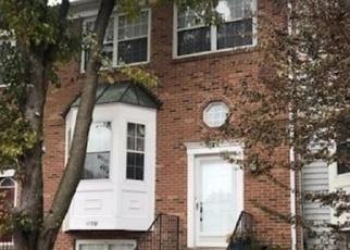 Pre Foreclosure in Fairfax 22033 FIELD LARK CT - Property ID: 1187813676