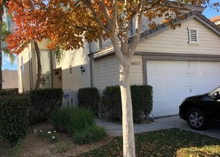 Pre Foreclosure in Temecula 92592 ARBOR LN - Property ID: 1199738388