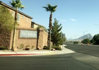 Pre Foreclosure in Henderson 89011 CRIMSON PEAK PL - Property ID: 1202894881