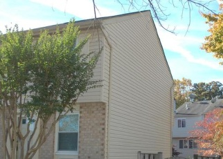 Pre Foreclosure in Lorton 22079 BLACKFOOT CT - Property ID: 1205105319