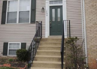 Pre Foreclosure in Hanover 21076 HILL BORN DR - Property ID: 1207310523