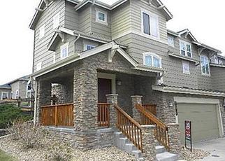 Pre Foreclosure in Aurora 80016 E IRISH DR - Property ID: 1208763275