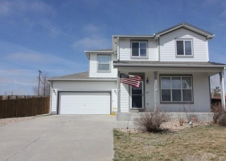 Pre Foreclosure in Strasburg 80136 ANCE ST - Property ID: 1208781231