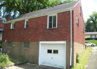 Pre Foreclosure in Mckeesport 15133 BEVERLY RD - Property ID: 1211842683