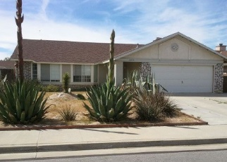 Pre Foreclosure in Rosamond 93560 MATTHEW AVE - Property ID: 1213091335