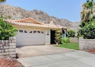 Pre Foreclosure in La Quinta 92253 AVENIDA JUAREZ - Property ID: 1216735278