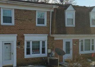 Pre Foreclosure in Laurel 20723 TUMBLEWEED RUN - Property ID: 1217215300