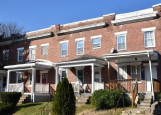 Pre Foreclosure in Baltimore 21218 E 38TH ST - Property ID: 1219012303