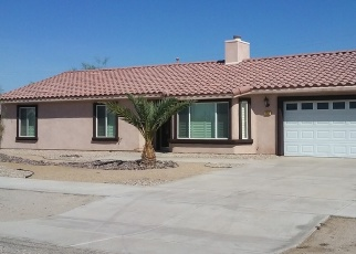 Pre Foreclosure in Thermal 92274 SAND ERE AVE - Property ID: 1219238753