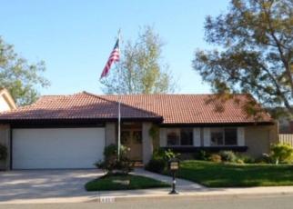 Pre Foreclosure in Moorpark 93021 GRANADILLA DR - Property ID: 1219262842