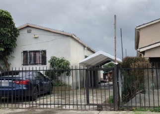 Pre Foreclosure in Los Angeles 90059 E 110TH ST - Property ID: 1224043313