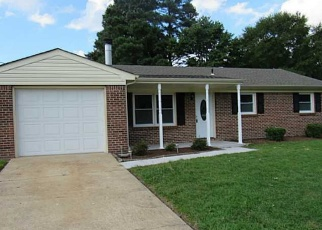 Pre Foreclosure in Chesapeake 23323 WILLOWWOOD DR - Property ID: 1261366587