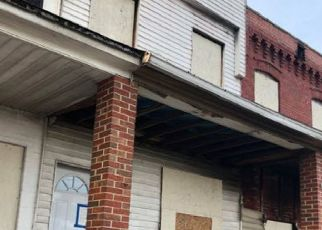 Pre Foreclosure in Curtis Bay 21226 HAZEL ST - Property ID: 1261443673