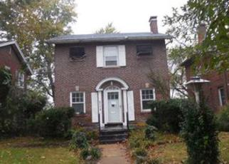 Pre Foreclosure in Saint Louis 63130 CHAMBERLAIN AVE - Property ID: 1262509252
