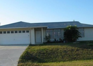 Pre Foreclosure in Cape Coral 33993 NW 3RD TER - Property ID: 1263943177