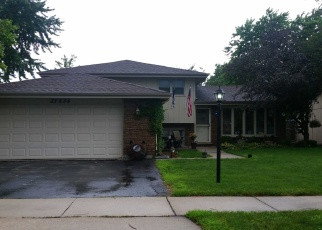 Pre Foreclosure in Oak Forest 60452 LOREL AVE - Property ID: 1265406458