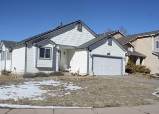Pre Foreclosure in Peyton 80831 GLADWATER RD - Property ID: 1266765491