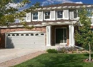 Pre Foreclosure in Aurora 80016 S EATON PARK WAY - Property ID: 1267082585