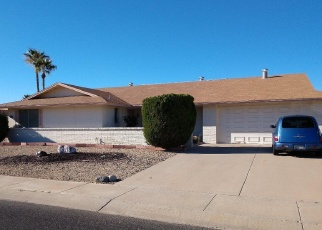 Pre Foreclosure in Sun City West 85375 W MARBLE DR - Property ID: 1267419383