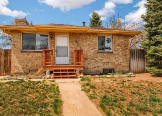 Pre Foreclosure in Greeley 80634 35TH AVE - Property ID: 1268226121