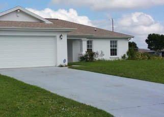 Pre Foreclosure in Cape Coral 33993 NW 20TH ST - Property ID: 1272873474
