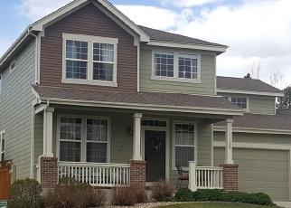 Pre Foreclosure in Castle Rock 80104 HALFMOON DR - Property ID: 1276269525