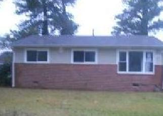 Pre Foreclosure in Norfolk 23518 BURRELL AVE - Property ID: 1277174373