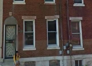 Pre Foreclosure in Philadelphia 19132 W DAUPHIN ST - Property ID: 1278408596