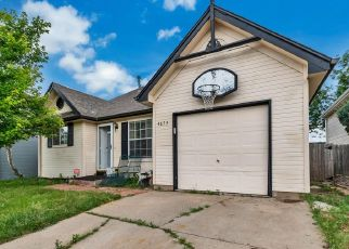 Pre Foreclosure in Aurora 80015 S BUCKLEY WAY - Property ID: 1281871657
