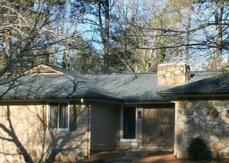 Pre Foreclosure in Roswell 30075 CHAFFIN RD - Property ID: 1284121977