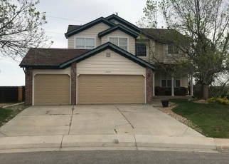 Pre Foreclosure in Aurora 80015 E BELLEVIEW PL - Property ID: 1288400980