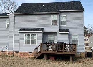Pre Foreclosure in Richmond 23231 WEBFOOT CT - Property ID: 1289339548