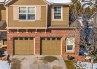 Pre Foreclosure in Castle Rock 80109 BROADVIEW PL - Property ID: 1293009776