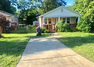 Pre Foreclosure in Charlotte 28208 DAVIS AVE - Property ID: 1293934330