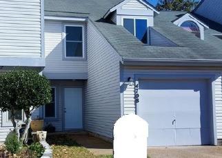 Pre Foreclosure in Virginia Beach 23462 WOODGLEN CT - Property ID: 1297324693