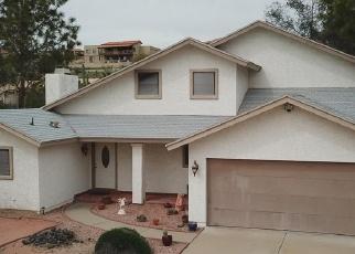 Pre Foreclosure in Fountain Hills 85268 E MARATHON DR - Property ID: 1300620441
