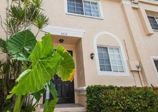 Pre Foreclosure in Pompano Beach 33073 NW 58TH MNR - Property ID: 1305165292