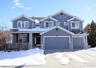 Pre Foreclosure in Castle Rock 80108 BAGUETTE DR - Property ID: 1305347497