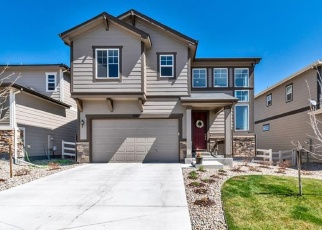 Pre Foreclosure in Castle Rock 80104 GARGANEY DR - Property ID: 1309387815