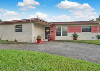 Pre Foreclosure in Fort Lauderdale 33313 NW 12TH CT - Property ID: 1309761399