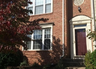 Pre Foreclosure in Centreville 20120 RAINA DR - Property ID: 1310407409