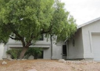 Pre Foreclosure in Tucson 85742 W DARLEY WOODS DR - Property ID: 1314001875