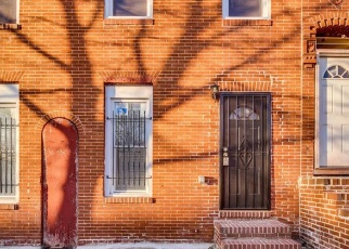 Pre Foreclosure in Baltimore 21205 ASHLAND AVE - Property ID: 1314239237
