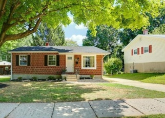 Pre Foreclosure in Randallstown 21133 TERKA CIR - Property ID: 1314251960